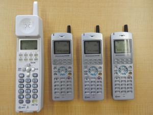 ワイヤレスビジネスフォン4台