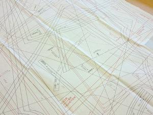 ウエイドの型紙実績例A